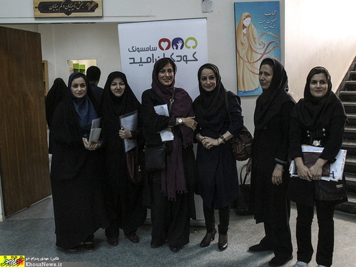 تصاویر/ بازیگر زن معروف در اهواز