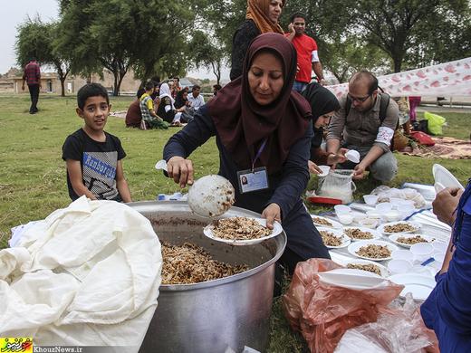 تصاویر / اردوی گردشگری کودکان نابینا در شوشتر