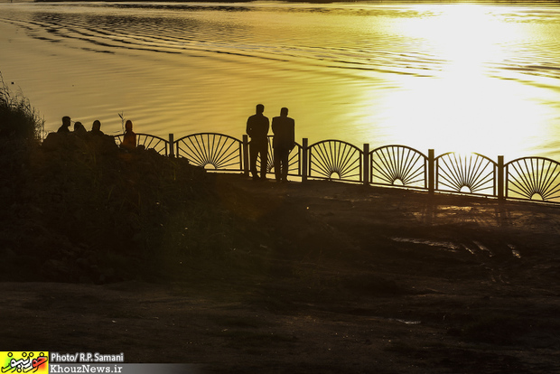 تصاویر/ از کارون جوی آبی باقی خواهد ماند؟!
