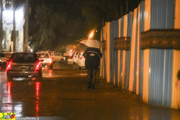 تصاویر/ شب بارانی اهواز