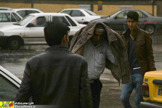 تصاویر / باران پاییزی در اهواز