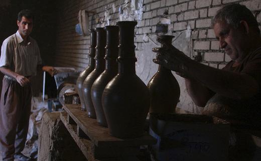 تصاویر/آخرین بازمانده کوزه گری در خوزستان