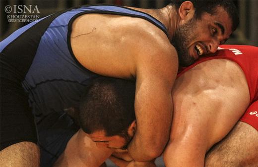 تصاویر/مسابقات فینال و ردهبندی لیگ جهانی کشتی فرنگی - آبادان/1