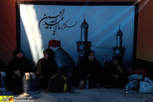 تصاویر/ وضعیت پایانه مرزی چذابه در آستانه اربعین حسینی / 1
