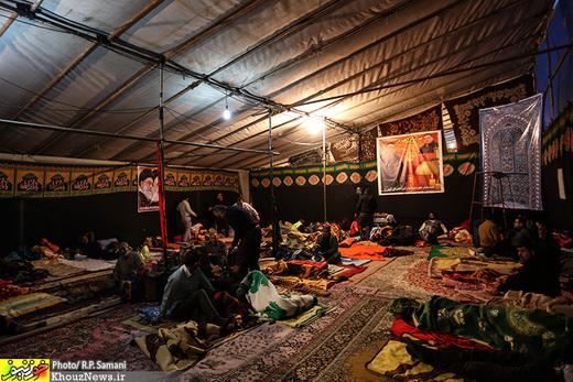تصاویر/ وضعیت پایانه مرزی چذابه در آستانه اربعین حسینی / 3