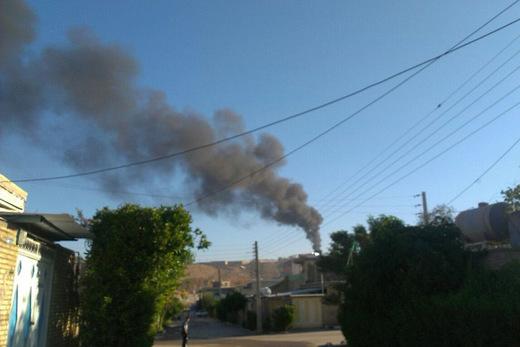 تصاویر/انفجار در مسجدسلیمان