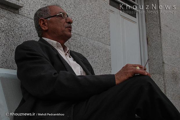 تصاویر/ حال و احوال اورژانس بیمارستان امام اهواز در یک روز گرد و غباری