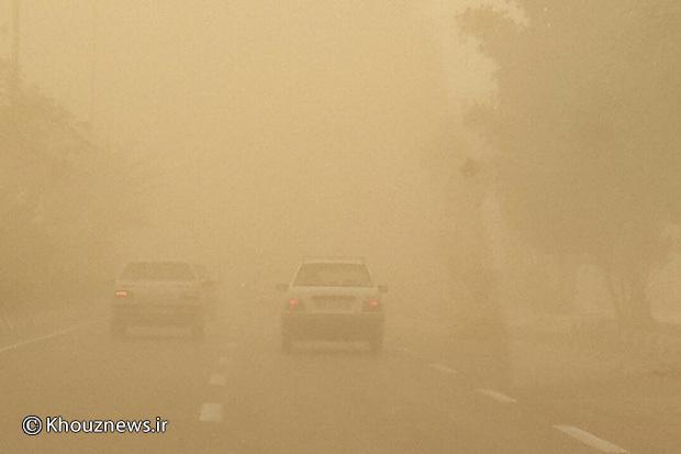 کاربران/ عکس/ گرد و غبار شدید در خوزستان / 3