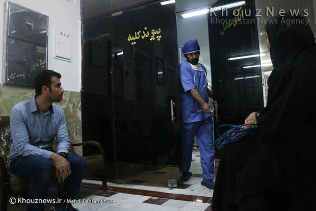 تصاویر / اهدای اعضای یک جوان اهوازی به 3 بیمار نیازمند