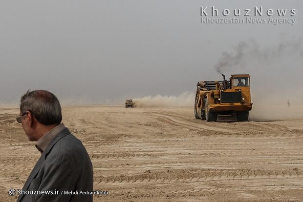 تصاویر / طرح 550 هزار هکتاری احیای اراضی خوزستان  / 1