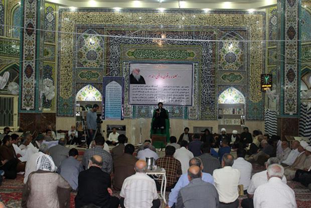 برگزاری ششمین سالگرد ارتحال حاج شیخ مرتضی انصاری در اهواز / تصاویر